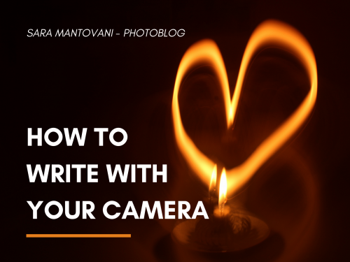 How to write with your camera! #PhotoLab